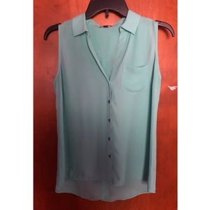 Small Turquoise Blouse